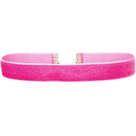 "Amazon.com: Twilight's Fancy 5/8"" 16mm Plain Velvet Ribbon Choker Necklace (Hot Pink Magenta, Large): Clothing"