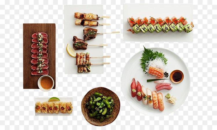 Sticks'n'Sushi Japanese Cuisine Food Asian cuisine - coriander png download - 716*537 - Free Transparent Sushi png Download.