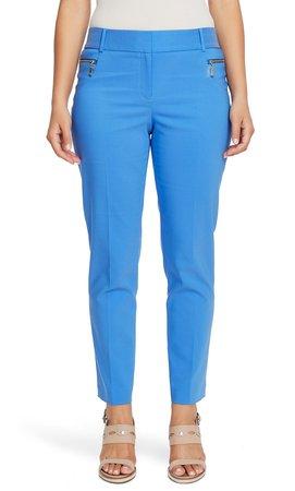Dena Zip Pocket Straight Leg Pants