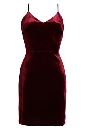 Fraiche By J | Velvet Sleeveless Mini Dress | Nordstrom Rack