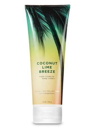 Coconut Lime Breeze Triple Moisture Body Cream - Signature Collection | Bath & Body Works