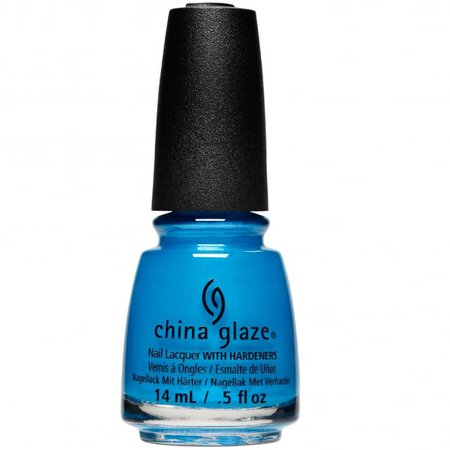 China Glaze Summer Reign Collection - I Truly Azure You (80016) 14ml