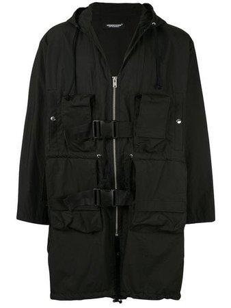 Undercover black raincoat