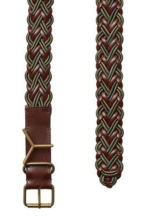 Woven Leather Belt Gr. 1
