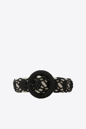 COMBINATION BELT | ZARA United States black