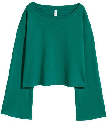 Short Sweatshirt - Green
