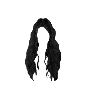 black hair edit png