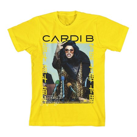 Cardi b no questions asked tee