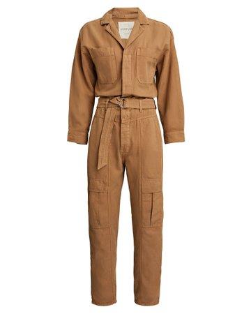 Citizens of Humanity Willa Cotton-Linen Jumpsuit   INTERMIX®