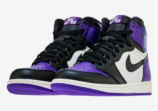 Air Jordan 1 Retro High OG Court Purple Photos | SneakerNews.com