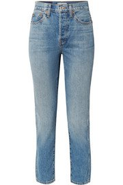 Goldsign | The Low Slung cropped mid-rise straight-leg jeans | NET-A-PORTER.COM