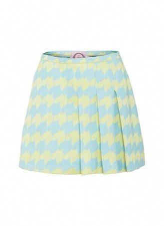 Mint Green and Sky Blue Skirt