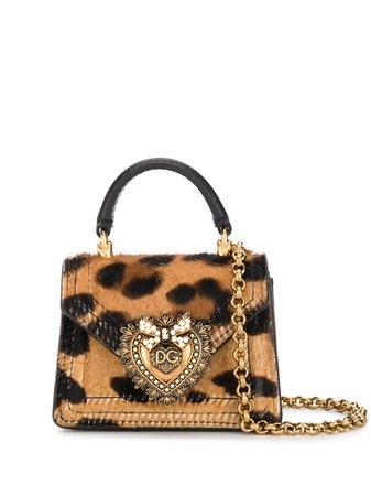 Dolce & Gabbana Leopard Print Mini Bag - Farfetch