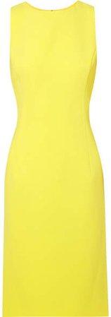 Crepe Dress - Yellow
