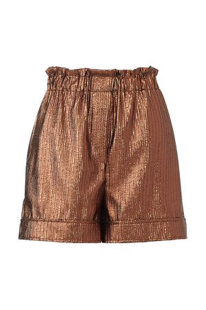 Bronze High Waist Shorts by (nude) for $45 | Rent the Runway