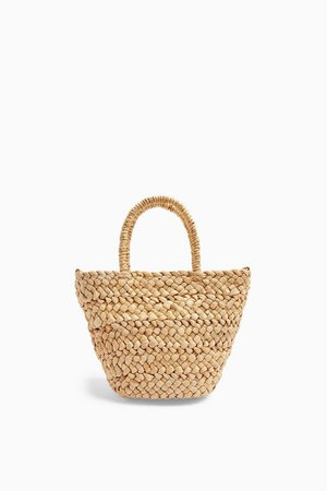 RHODES Mini Straw Weave Tote Bag | Topshop