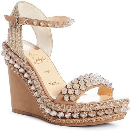 Lata Stud Wedge Sandal