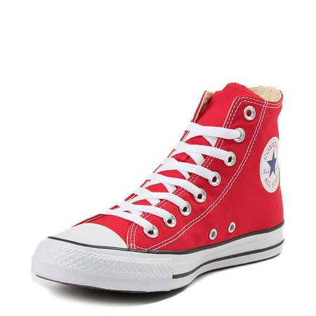 Converse Chuck Taylor All Star Hi Sneaker - Red | Journeys