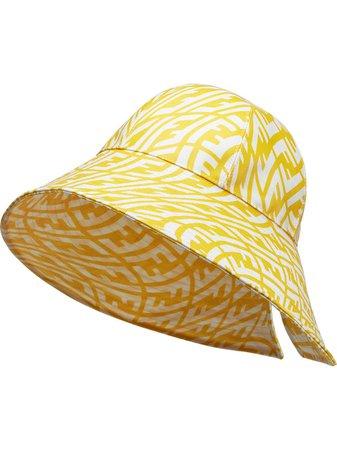 Fendi FF FishEye wide-brim Hat - Farfetch