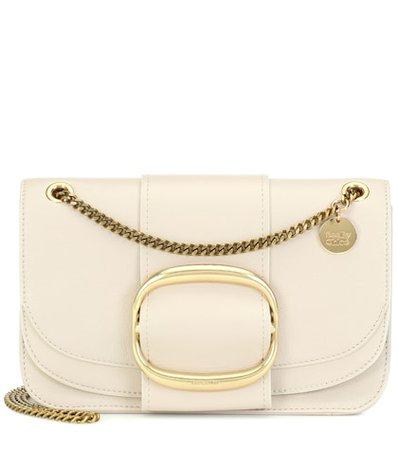Hopper Medium leather shoulder bag