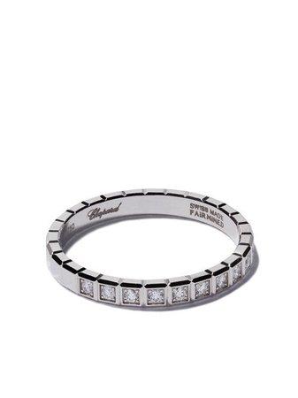 Chopard 18kt White Gold Ice Cube Diamond Ring - Farfetch