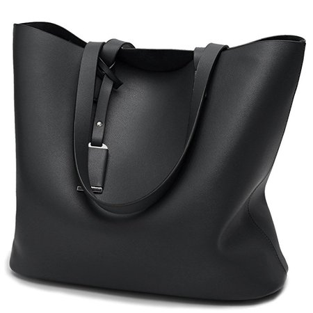 Cadier Womens Designer Purses and Handbags Ladies Tote Bags, Black: Handbags: Amazon.com