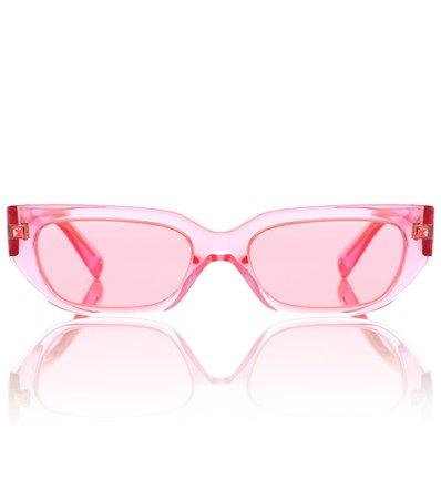 Vlogo Acetate Sunglasses - Valentino | Mytheresa