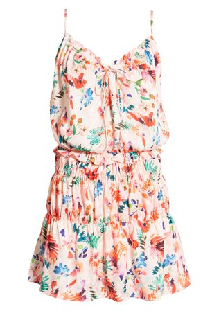 NSR Teddi Floral Blouson Dress | Nordstrom
