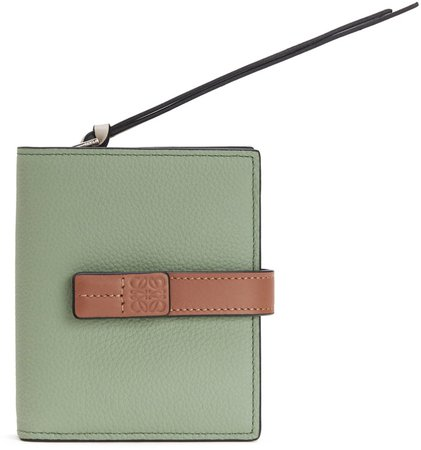 Logo Tab Leather Wallet