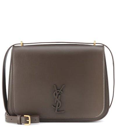 Medium Spontini leather shoulder bag