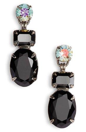 Sorrelli Forget Me Not Crystal Drop Earrings | Nordstrom