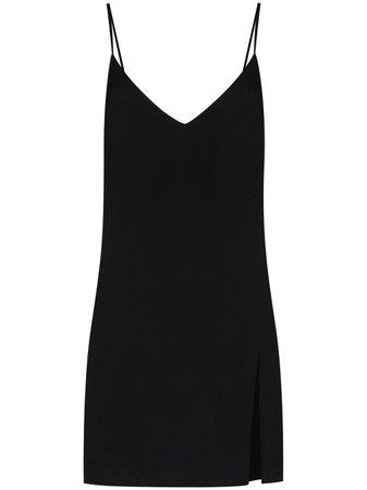Reformation Slit Detail Mini Dress - Farfetch