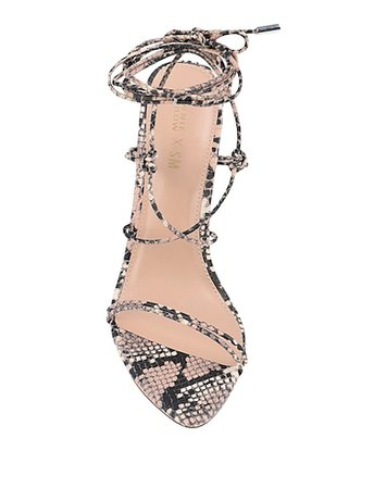 Winnie Harlow X Steve Madden Badgirl Sandal Heel - Sandals - Women Winnie Harlow X Steve Madden Sandals online on YOOX United States - 11814258KP