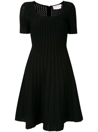 Carolina Herrera, Knitted Flared Dress
