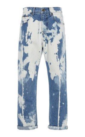 Iconic Chain-Link Rigid Mid-Rise Straight-Leg Jeans By Tom Ford   Moda Operandi