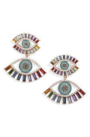 BaubleBar Eye Spy Drop Earrings | Nordstrom