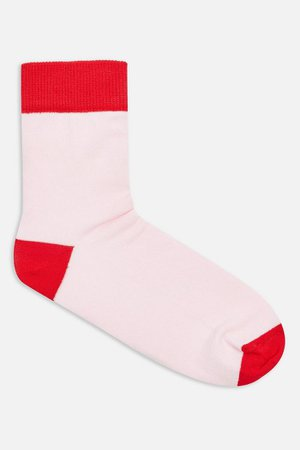 Colour Block Drumstick Socks | Topshop