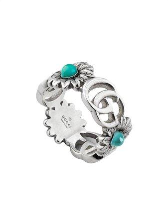 Gucci Double G Flower Ring - Farfetch