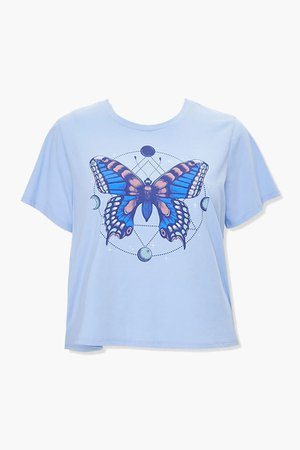 Plus Size Butterfly Graphic Tee | Forever 21