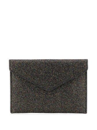 Rebecca Minkoff Leo Glitter Clutch Bag Ss20 | Farfetch.Com