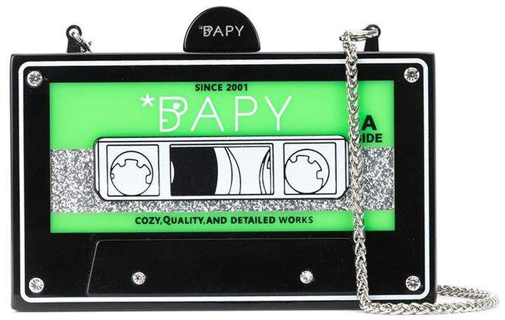 Strass Cassette Shoulder Bag