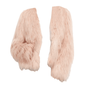 pink fur coat jacket png