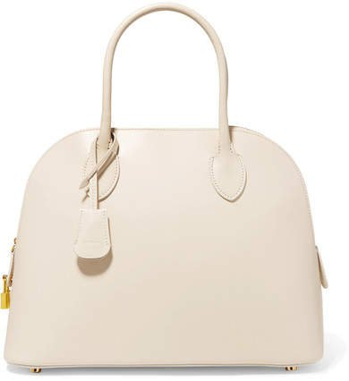 Lady Leather Tote - Ivory