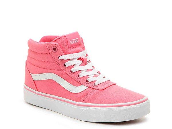Vans Ward High-Top Sneaker - Women's Women's Shoes   DSW
