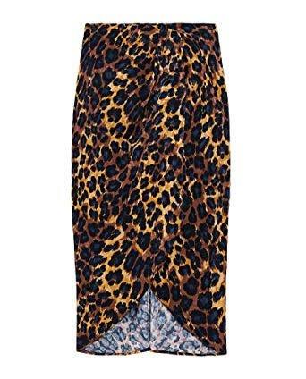 Zara leopard skirt