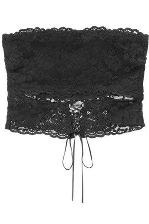 Cosabella | Ravello stretch-lace bandeau bra | NET-A-PORTER.COM