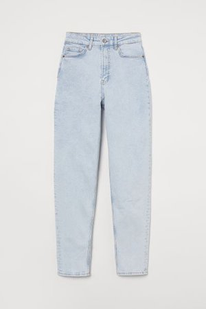 Mom High Ankle Jeans