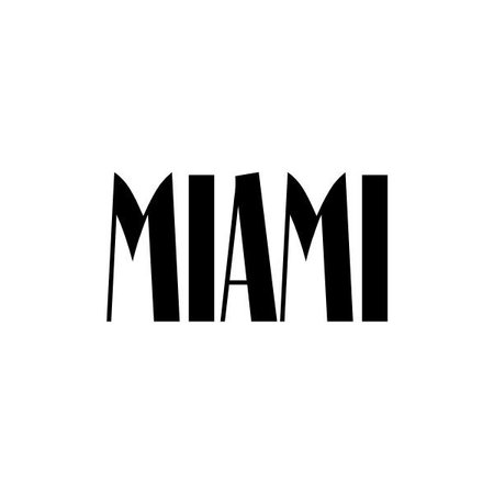 EF Miami Regular Font - Fonts.com ❤ liked on Polyvore featuring words, text, quotes, backgrounds and miami | Miami map, Miami, Fonts