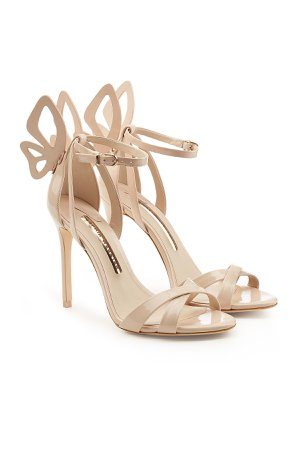 Madame Chiara Patent Leather Sandals Gr. EU 38
