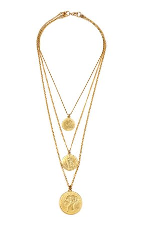 Gold-Plated Necklace by Ben-Amun | Moda Operandi